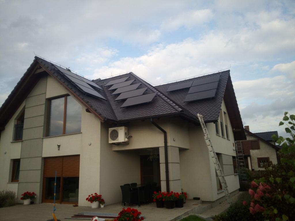 Kioto Solar 310W + SolarEdge Toruń 1