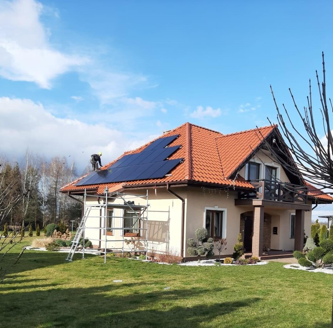 montaż paneli słonecznych bydgoszcz